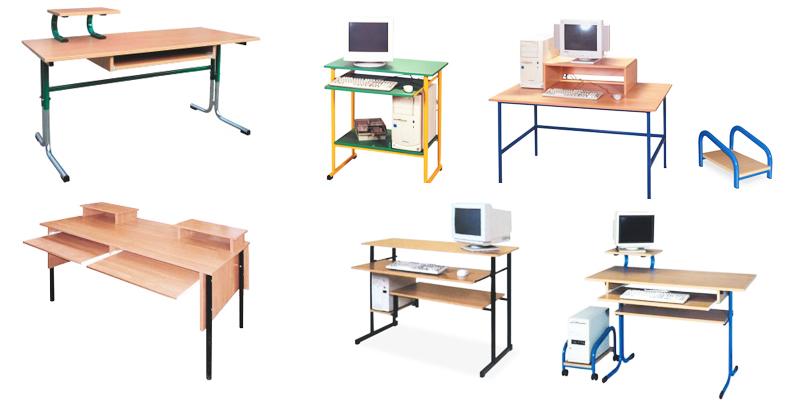 Stoły Komputerowe Szkolna Pracownia Informatyczna