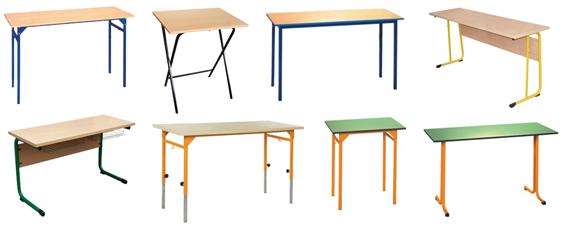 Inne rodzaje Stół szkolny NYSA 2-os. /składany/ Nr 3 lub 4 ( ławki szkolne TV56