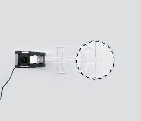 Zestaw optyka do tablicy szkolnej