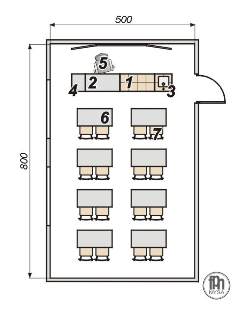 Świeże Pracownia chemiczna 16-stanowiskowa Sklep FPN Nysa - pomoce KD38