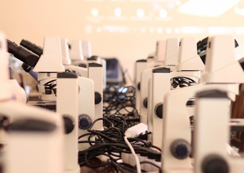 Mikroskop delta optical genetic pro bino z kamerą usb sklep fpn