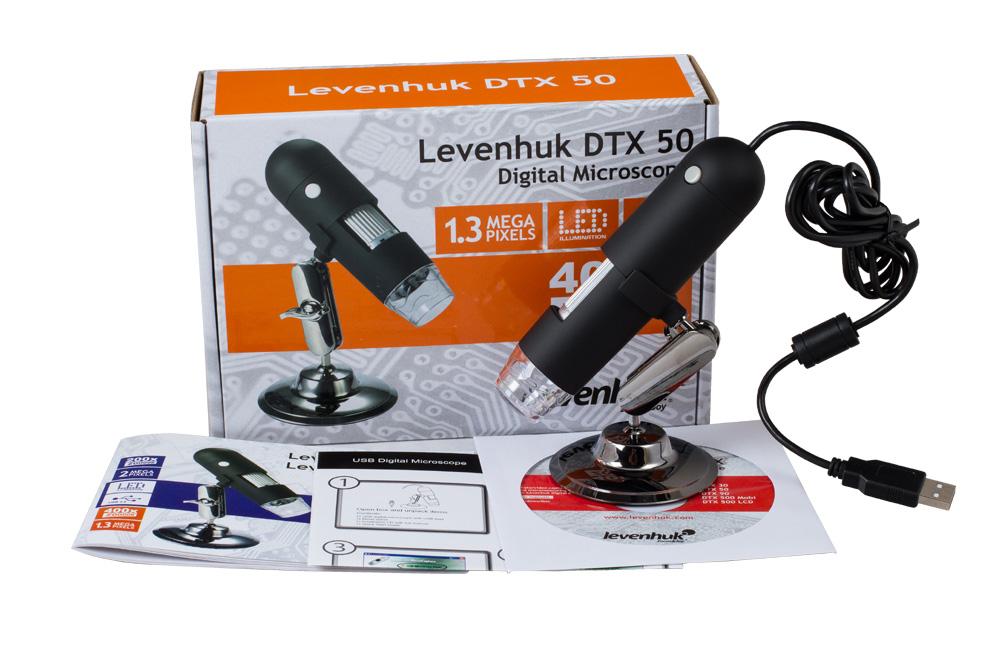 Mikroskop cyfrowy levenhuk dtx 50 powiększenie 20u2013400x. kamera: 1 3