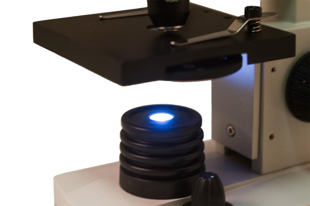 Mikroskop biologiczny szkolny levenhuk rainbow l plus